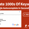 SEO対策のGoogleキーワードプランナーの代わりに使えるナンバーワンの無料キーワード